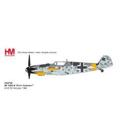 Hobby Master Bf109G-6 4./JG 52 Erich Hartmann WHITE1 1:48 +Preorder+