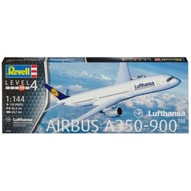 Revell Germany A350-900 LUFTHANSA OC 1:144 Scale Kit [ Retired 2019 ]