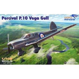 DoraWings Percival P.10 Vega Gull Military 1:48
