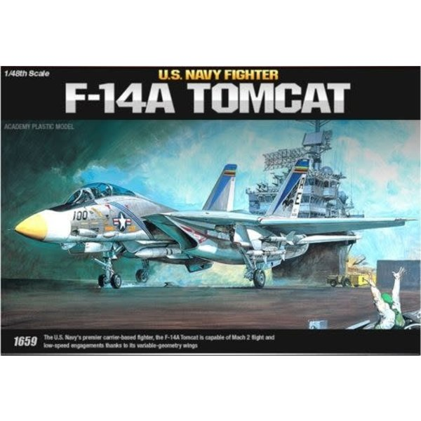 Academy F14A Tomcat USN 1:48 [ Ex-AC1659 ]