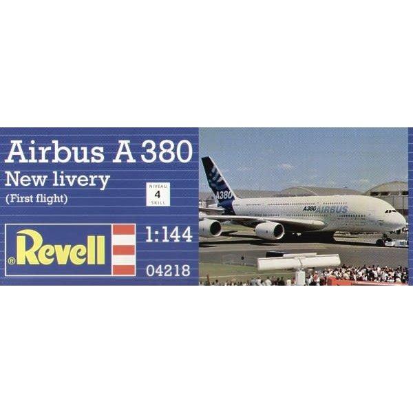 Revell Germany A380 HC 1st Flight 1:144 [ Retired 2019 ]