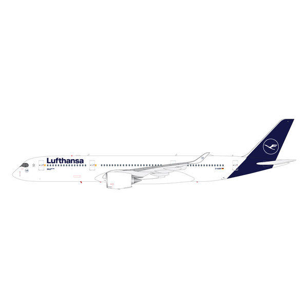 Gemini Jets A350-900 Lufthansa new livery 2018 D-AIXN 1:200