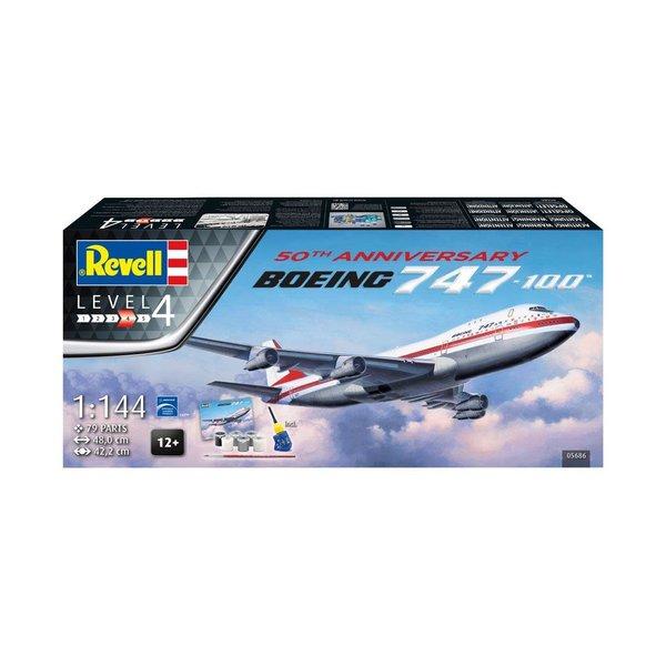 Revell Germany B747-100 50th Anniversary Gift set 1:144