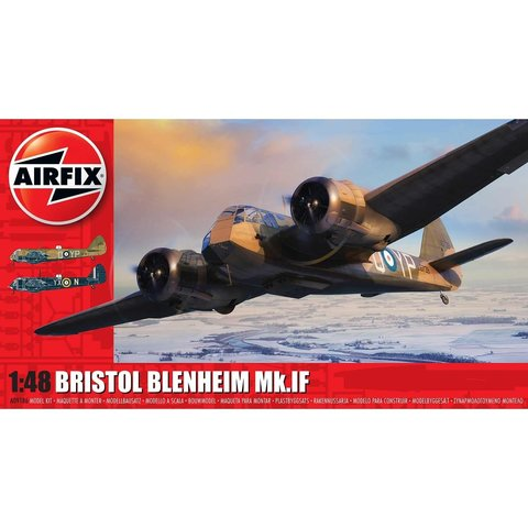 Bristol Blenheim Mk.IF 1:48 NEW TOOLING