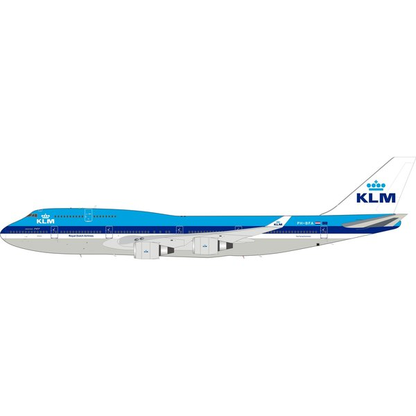 InFlight B747-400 KLM PH-BFA Atlanta old c/s 1:200