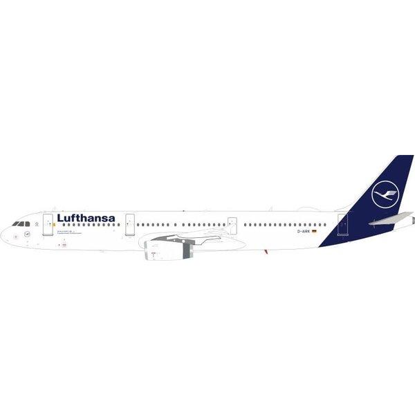 JFOX A321 Lufthansa 2018 Livery D-AIRK 1:200