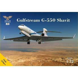AMODEL SOVA-M Gulfstream G-550 Shavit Israeli version 1:72