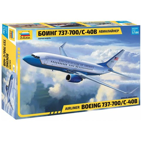 B737-700/C-40B 1:144 NEW 2020