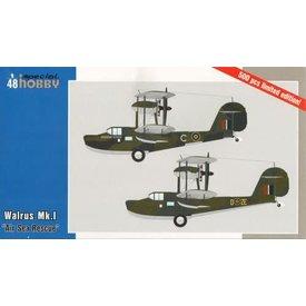 """Special Hobby WALRUS MK1 """"Air-Sea Rescue"""" 1:48"""