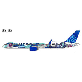 NG Models B757-200W United 2019 Her Art Here NY/NJ N14102 1:400 +PREORDER+