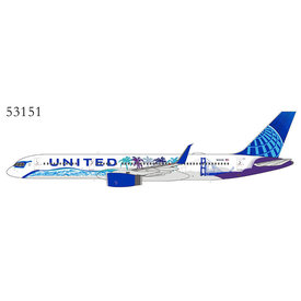 NG Models B757-200W United 2019 Her Art Here California 1:400