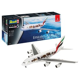 Revell Germany A380-800 Emirates Wild Life 1:144 NEW 2020