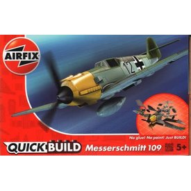 Airfix BF109E QUICK BUILD 1:48 Snap together model
