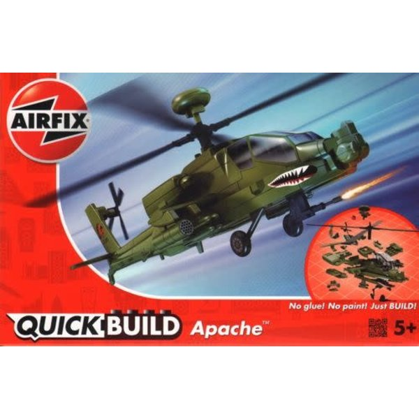 Airfix APACHE QUICK BUILD Snap together model