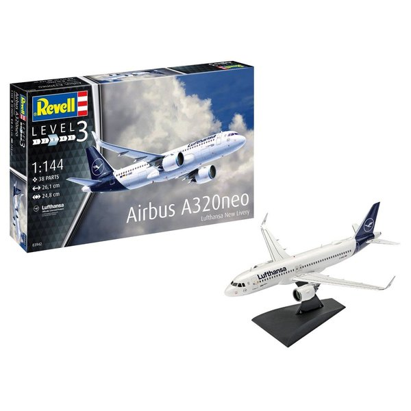 Revell Germany A320neo Lufthansa NC 1:144 NEW 2020 [ no wheels!]