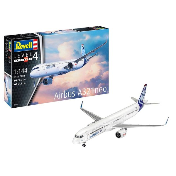 Revell Germany A321neo Airbus House Colours 1:144 New Tool 2019