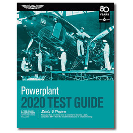 ASA - Aviation Supplies & Academics Powerplant Test Guide 2020 softcover