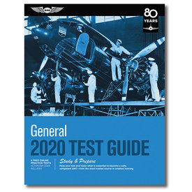ASA - Aviation Supplies & Academics General Test Prep 2020 softcover