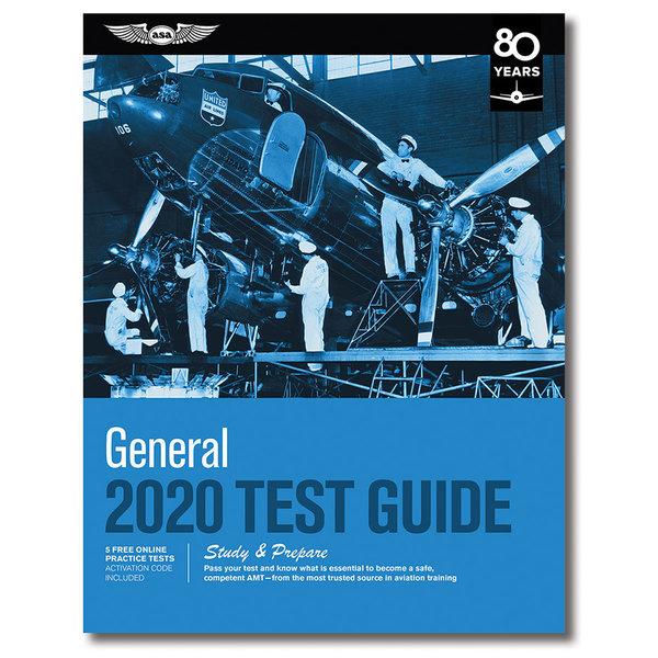ASA - Aviation Supplies & Academics General Test Prep 2020 softcover