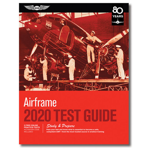 Airframe Test Guide 2020 softcover