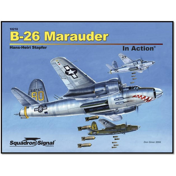 Squadron B26 Maruder: in Action #210 softcover