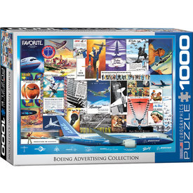 Boeing Advertising Collection 1000 Piece Puzzle
