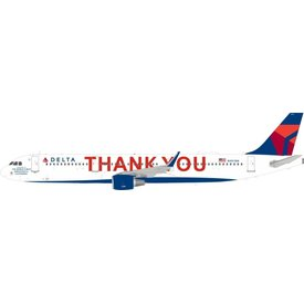 JFOX A321S Delta THANK YOU N391DN 2007 livery 1:200