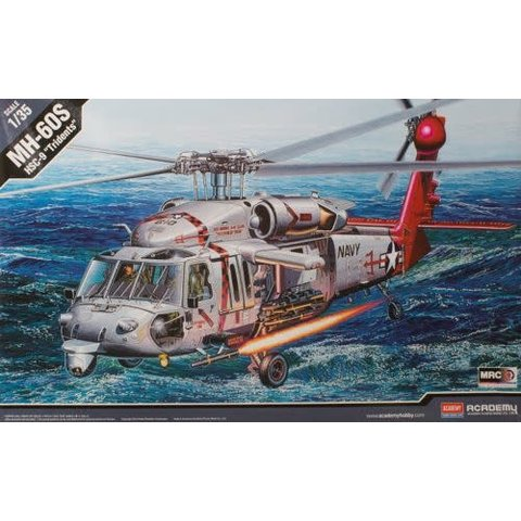 """ACDMY MH60S HSC-9 USN """"Tridents"""" 1:35"""