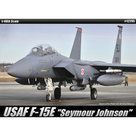"Academy ACDMY F15E STRIKE EAGLE ""Seymour Johnson"" 1:48 *O/P*"