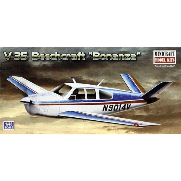 Minicraft Model Kits BEECH BONANZA V35A 1:48 *O/P*