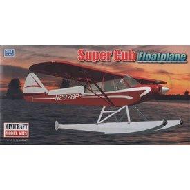 Minicraft Model Kits Piper Super Cub on Floats 1:48