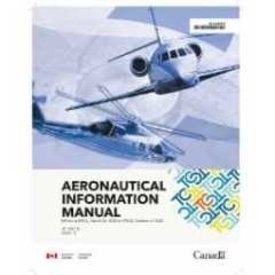 Transport Canada Aeronautical Information Manual AIM April 2020 Large Size 8.5 x 11""