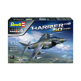 Revell Germany Bae Harrier GR.1 Gift Set 50 Years 1:32