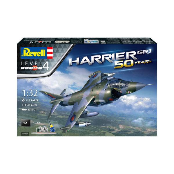 Revell Germany Bae Harrier GR.1 Gift Set 50 Years 1:32
