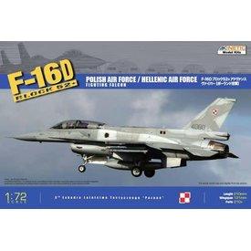 KINETIC KINET F16D BK52+ POLISH/HELLENIC 1:72