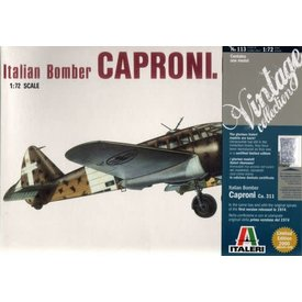 Italeri Caproni CA311 1:72 Limited edition-2000 Pieces**Discontinued**