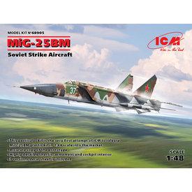 ICM Model Kits MiG25BM Soviet Strike Aircraft 1:48**Box damaged**