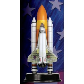 Dragon Space Shuttle Discovery w/Boosters 1:144 Cutaway model