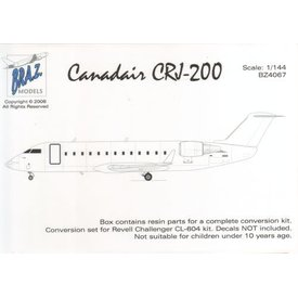 Canadair CRJ-200 Conversion Set (designed to be used with Revell kits) 1:144*