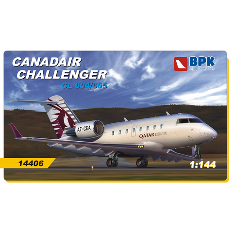 Canadair Challenger CL-604/605 1:144
