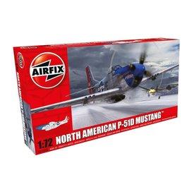 Airfix AIRFI P51D Mustang Lt.Eugene James, 328FS,352FG, Bodney, 1:72