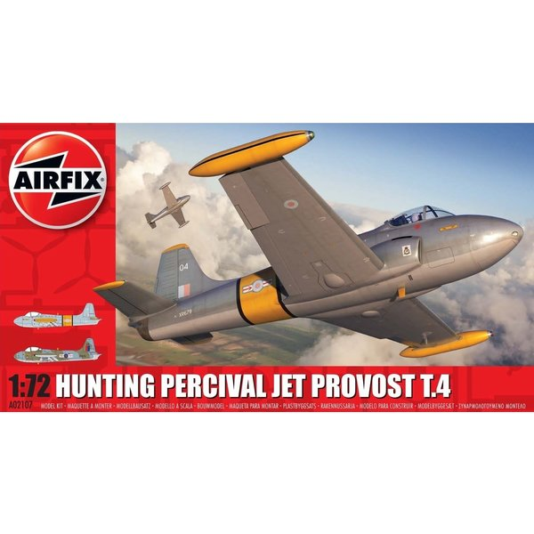 Airfix HUNTING PERCIVAL JET PROVOST T4 BAC 1:72
