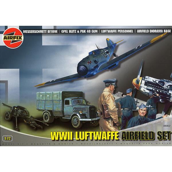 Airfix Luftwaffe Airfield set 1:72 *Discontinued* used