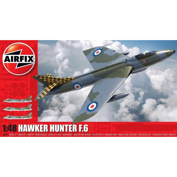Airfix AIRFI Hawker Hunter Mk6 1:48 NEW TOOL