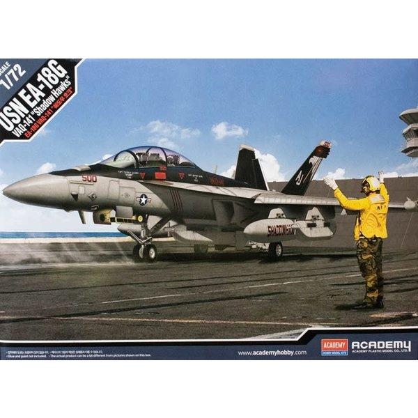 Academy ACDMY E/A-18G Growler VAQ-141 Shadowhawks 1:72