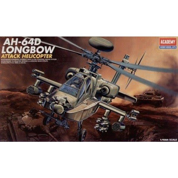 Academy AH64D LONGBOW 1:48 [Ex-AC2125 ]