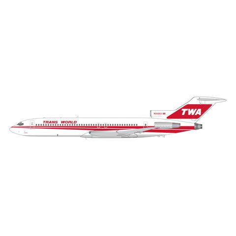B727-200 TWA Trans World Twin Stripe N54353 1:200