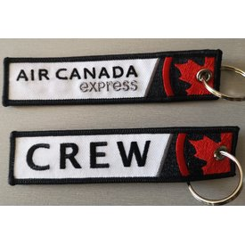 Key Chain Air Canada Express Crew New Livery Embroidered