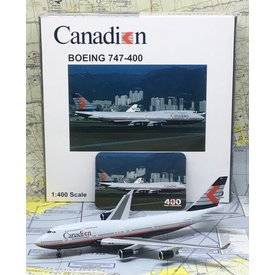JC Wings B747-400 Canadian Chevron C-FBCA 1:400 **o/p**