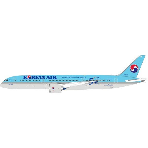 InFlight B787-9 Dreamliner Korean 50th Ann.HL8082 1:200